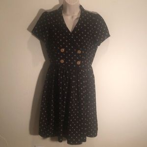 Adorable polka dot dress! Medium